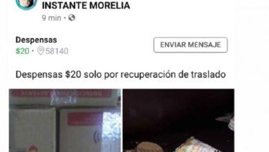 Photo of #Morelia Indagarán Venta De Despensas Del Gobierno En Redes