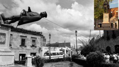 Photo of En Morelia Hace 28 Años Tumbaron Estatua Por 'Racista' ..Y La Volvieron A Poner Donde Mismo