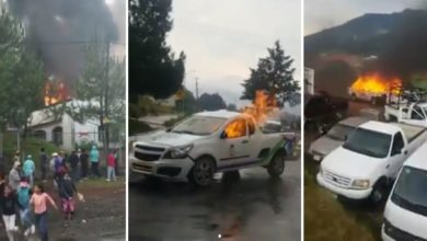 Photo of Cherán Bajo Fuego: Queman Patrullas Tras Muerte De Jóven Por La Ronda Comunitaria