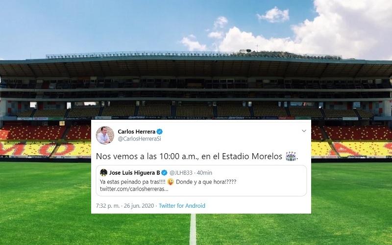 Photo of SeGob & Higuera Confirman: Sábado 10AM En El 'Morelos' Presentan Al Nuevo Atlético Morelia