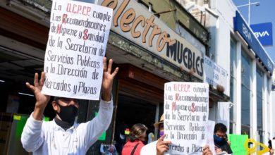 Photo of #Morelia Por Segunda Ocasión Ambulantes Del Independencia Salen A Manifestarse