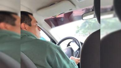 Photo of Usuaria De Uber Exhibe A Operador Que Se Niega a Usar Cubrebocas Porque AMLO No Lo Hace