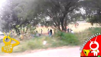 #Denúnciamesta Les vale contingencia, arman cascarita de fucho con shingo de gente