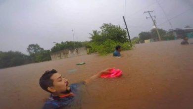 "Difunden Videos De ""Tormenta Cristobal"" E Inundaciones En Cancún"