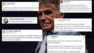 Famosos E Institutos Dan Pésame En Redes Tras Muerte De Héctor Suárez