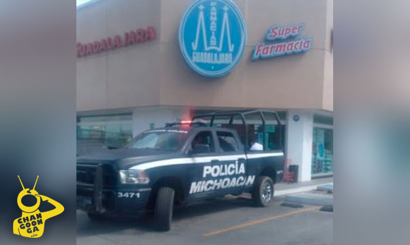 Photo of ¡FUERZA CIUDADANA! Morelianos Capturan A Rata Por Asaltar A Farmacia Guadalajara
