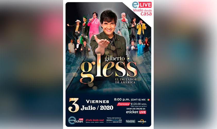 Photo of ¡Habrá Cortesías! Gilberto Gless Ofrecerá Show Online Con Más De 12 Personajes