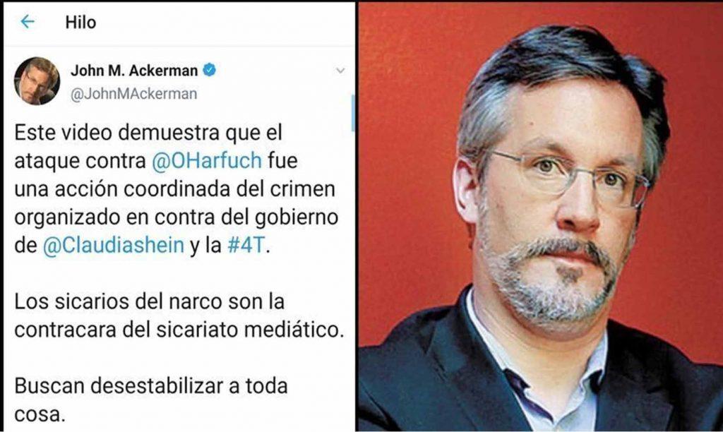 Photo of Lanzan Petición Para Que Destituyan A John Ackerman De La UNAM Por Estar Ligado A AMLO