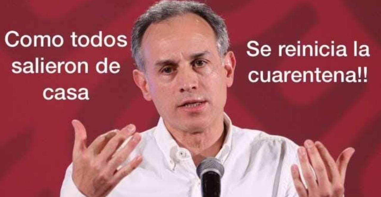 López Gatell Niega Que Se Reinicie Cuarentena Tras Sismo Como Dice Su Meme