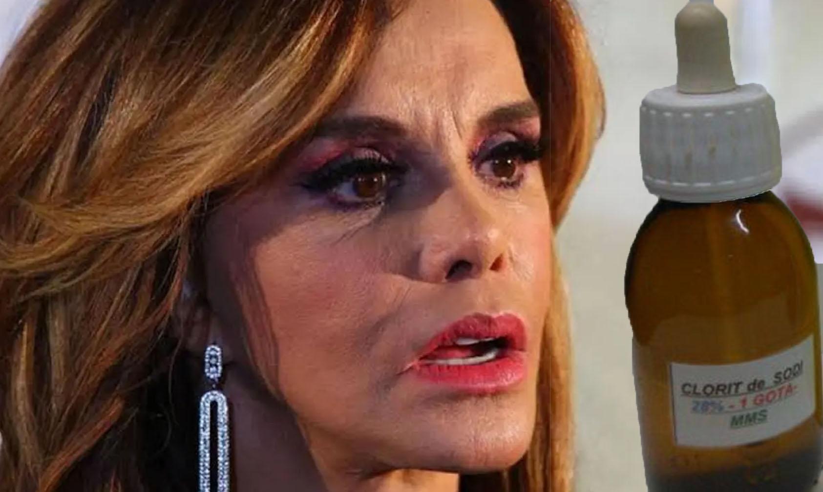 Photo of WTF! Lucía Méndez Recomienda Tomar Cloro Contra COVID-19