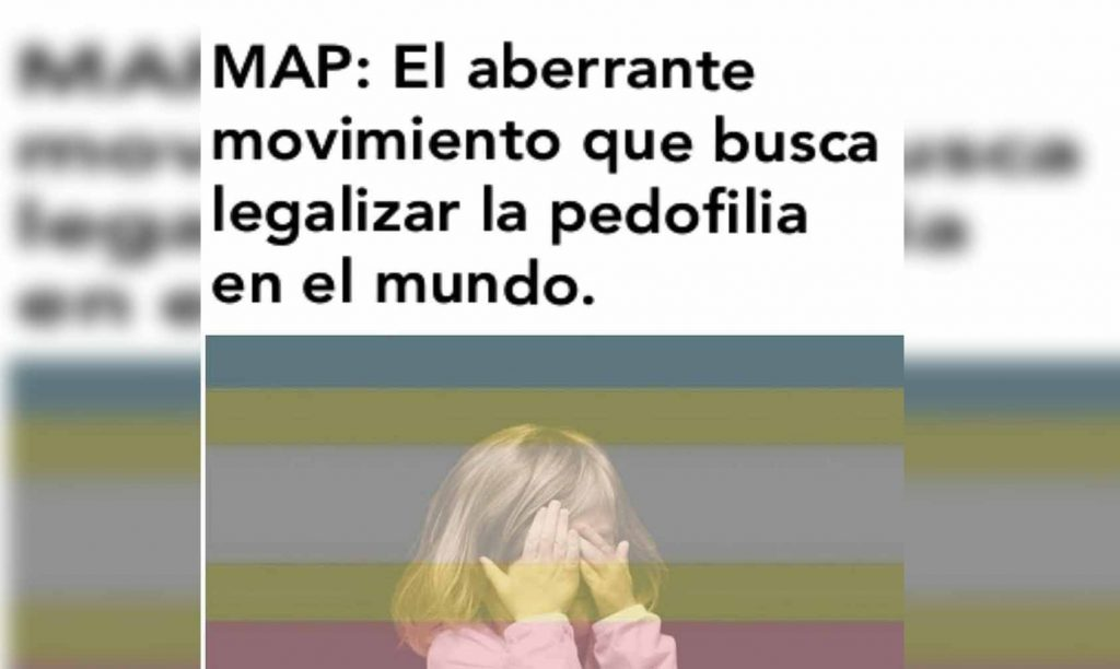 Photo of MAP: El Movimiento Que Buscan Justificar Y Legalizar La Pedofilia