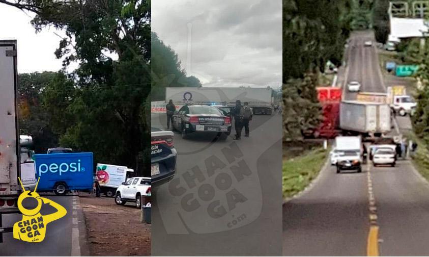 Photo of #Michoacán Comuneros Hacen 3 Bloqueos En Carreteras Del Estado