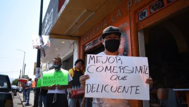 "Photo of #Morelia Comerciantes Ambulantes Se Manifiestan: ""Queremos Trabajar"""