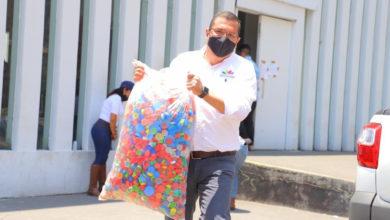 Photo of #Morelia Con Tapas De Plástico, Sedesoh Ayuda A Medio Ambiente Y Niños Con Cáncer