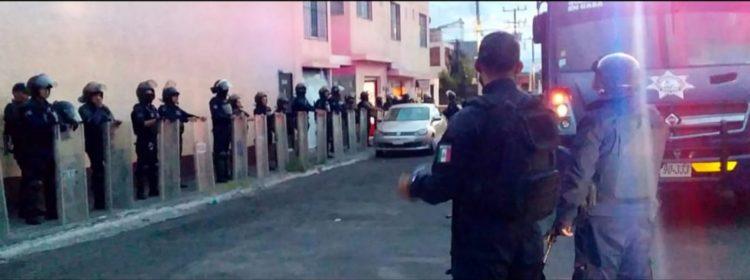 #Morelia Policía Dispersa Fiesta En La Huerta Pa' Evitar Contagio De COVID-19