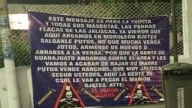 Photo of #Guanajuato Colocan Narcolonas En Moroleón En Contra Del CJNG