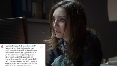 "Photo of ""Es Una Sátira"": Responde Regina Blandón A Críticas Sobre Serie De Caso Paulette"