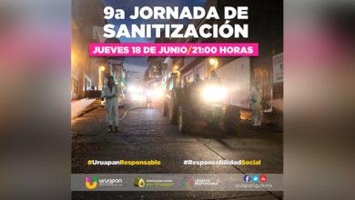 Photo of ¡ATENCIÓN URUAPAN! Sanitizarán Hospitales, Mercados, Oficina SSP Y GN, Este 18 De Junio