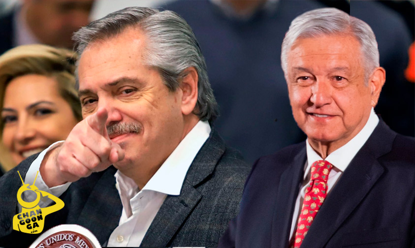 Photo of Somos 2 Que Queremos Cambiar El Mundo, AMLO Y Yo: Presidente De Argentina