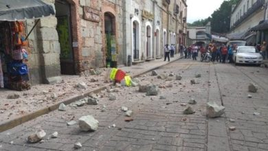 Van 7 Muertos En Oaxaca Por Sismo De 7.5, Más De 1 Mil 500 Réplicas
