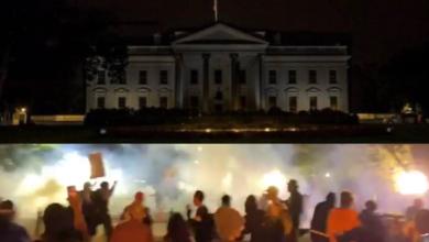 #Video La Casa Blanca Apagó Sus Luces En Medio De Protestas VS El Racismo