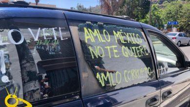 Photo of #Morelia Quiebran Vidrio A Camioneta Que Iba En Caravana Anti AMLO