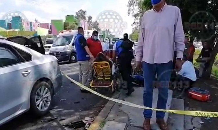 #Morelia Carambola De 7 Vehículos En Libramiento Deja Dos Heridos