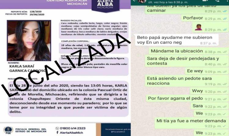 """Localizan A Joven Que Presuntamente Había Sido """"Levantada"""" En Morelia"""