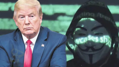 "Photo of Trump Tacha De ""Fake News"" Acusaciones De Anonymous Sobre Tráfico De Menores"