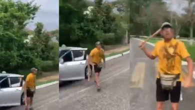Photo of En Ixtapa Italiano Golpea Con Bat A Mujer Al Ser Grabado Tirando Basura