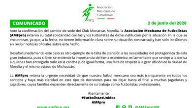 Photo of Jugadores De Monarcas No Tienen Situaciones Claras, Acusa AMF