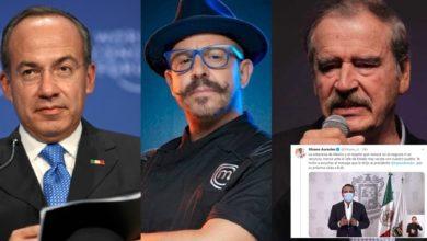 Photo of Fox, Felipe Y Hasta El Chef Benito Apoyan A Silvano Por Criticar Vista De AMLO A Trump