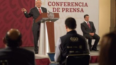 "Photo of AMLO Asegura Se Adhiere A ""Nuevo Testamento"" Sobre Crimen Organizado"
