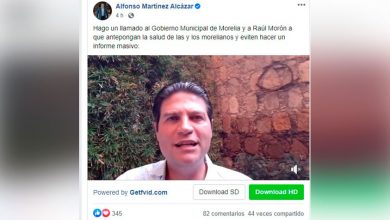 Photo of #Morelia Alfonso Pide A Morón No Haga Informe De Labores Masivo Por Precaución