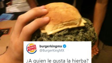 """Burger King Pregunta """"A Quién Le Gusta La Hierba"""", Se Vuelve Tendencia"""