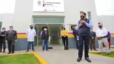 Photo of Inauguran Centro De Salud En Tarímbaro