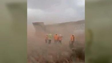 """Photo of Estados Unidos Desmiente Que """"Hanna"""" Haya Tumbado Parte De Muro Fronterizo"""