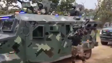 Photo of Circula Video Del CJNG Presumiendo Armas Del Ejército Y Trocas Blindadas