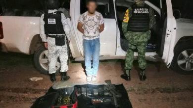 Photo of #Michoacán En Recorrido Detienen A Chavo Con Armas Y Aseguran Camionetas Robadas