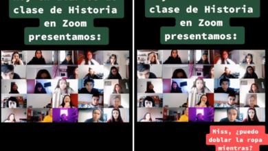Photo of En México: Chavo Pide Poder Doblar Ropa Durante Clase En Línea, Si No Le Pegan