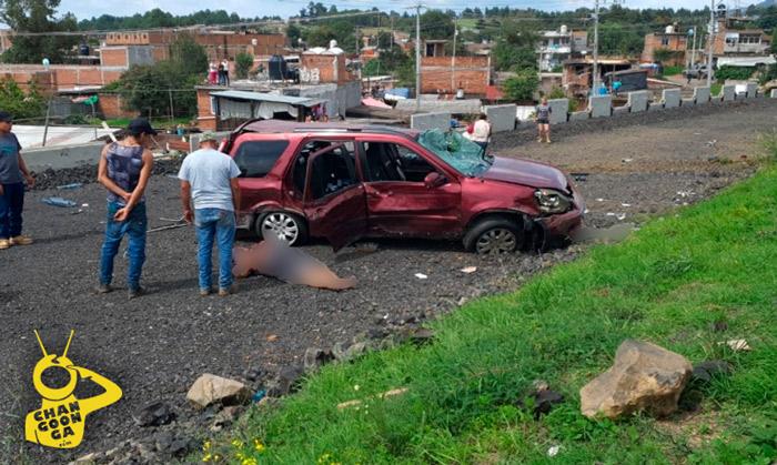 #Michoacán Chofer Imprudente Provoca Accidente En La Siglo XXI, 1 Muerto Y 2 Heridas