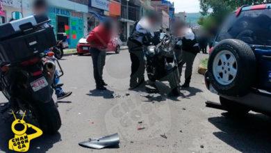 Photo of #Morelia Camioneta Avienta Motopatrulla Y Destroza La Unidad A Policía