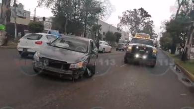 #Morelia Choque Entre Taxi Y Carro Manda A Embarazada Al Hospital