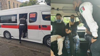 Photo of Polis De Morelia Se Trepan A Chombis Y Camiones Pa Evitar Delitos