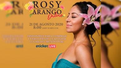 Photo of Rosy Arango Ofrecerá Concierto Virtual En Beneficio De Casa Hogar