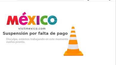 """Photo of Suspenden Portal Web De VisitMexico.com """"Por Falta De Pago"""""""