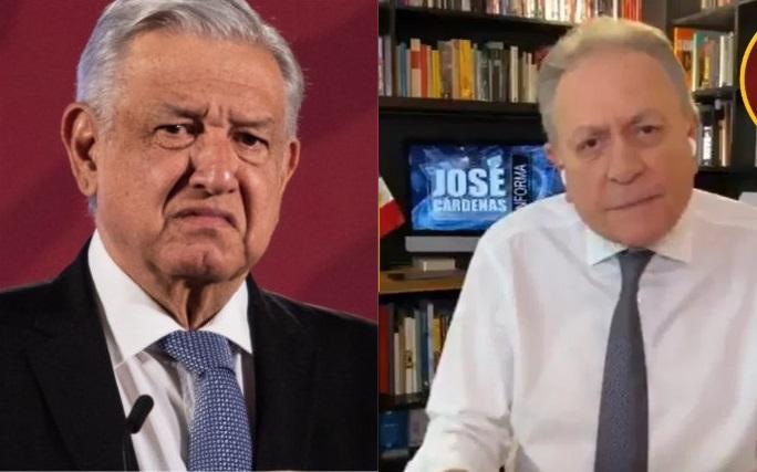 "Tunden A José Cárdenas Por Recordar Apodo De Hijo De AMLO ""Chocoflan"""