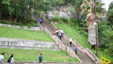 Photo of #REPORGRAFICA Escaleras De Santa María En Bandera Amarilla