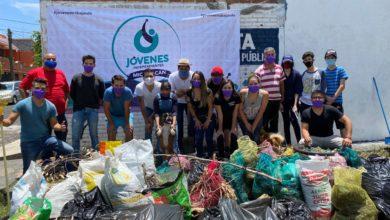 Photo of #Morelia Jóvenes Independientes Limpian Colonia La Huerta, Juntan 30 Bolsas De Basura