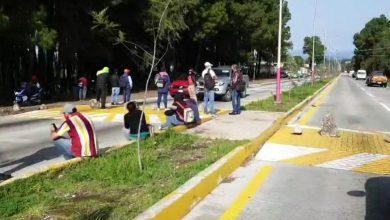 Photo of #Zitácuaro Con Piedras CNTE Bloquea Salida A Toluca